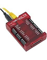 T4-USB or Ethernet Multifunction DAQ Device with up to 12 Analog inputs or 16 Digital I/O, 2 Analog outputs (10-bit), and Multiple Digital counters/timers.