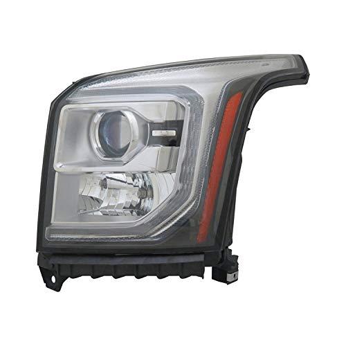 New Replacement Headlight Driving Head light Headlamp Driver Left Side LH Hand For GMC Yukon/Yukon XL OEM Quality ()