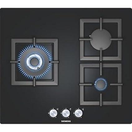 Siemens EP616CB21E hobs - Placa (Incorporado, Gas, Vidrio, Giratorio, 1m,