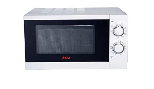 Akai Microondas AKMW200 Blanco, con Grill, 20L, 700 W, 20 litros ...