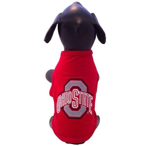 NCAA Ohio State Buckeyes Cotton Lycra Dog Tank Top, Medium