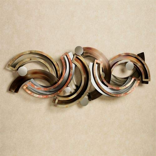 Touch of Class Rejoice Metal Wall Sculpture Multi Metallic