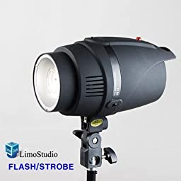 LimoStudio Photography 200W Photo Monolight Flash Strobe Studio Photography Light Lighting, AGG1756