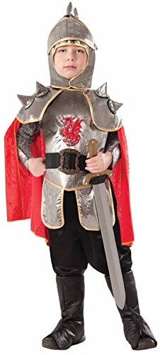 Shining Knight Costume (Forum Novelties Silver Knight Costume, Large)