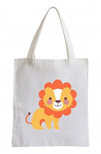 Raxxpurl Dolce Lion Fun sacchetto di iuta