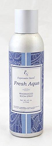JacMax Industries Expressive Scent Fragrance Room Spray, 6 oz, Fresh Aqua ()