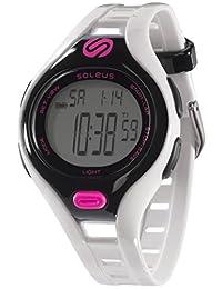 Soleus Women's SR019-112 Dash Small Digital Display Quartz White Watch