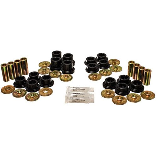 Bushings Dodge Rear Energy Suspension (Energy Suspension (5.3126G) Control Arm Bushing Set for Dodge Viper, Rear, Black)
