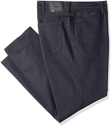 (Levi's Men's Big and Tall Big & Tall 541 Athletic Straight-Fit Jean, Stealth/Stretch, 58W x 32L)