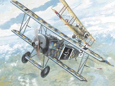 Roden 1/72 German Fokker D.VI warplane WW-1 072t007 plastic -