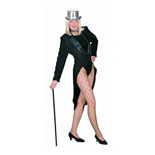 Déguisement Costume Femme Queue de Pie avec col Satin dans les tailles 34/36à 46/48