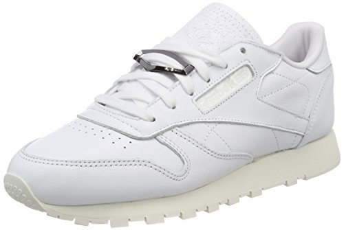 Classic Reebok Blanc Femme Hardware Leather Baskets Fwd08w