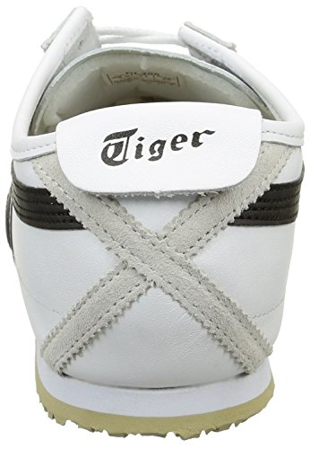 66 Mexico 0190 Adulto Ontisuka 10 Zapatillas 0190 Black Unisex White Dl408 Blanco RaWWP57q