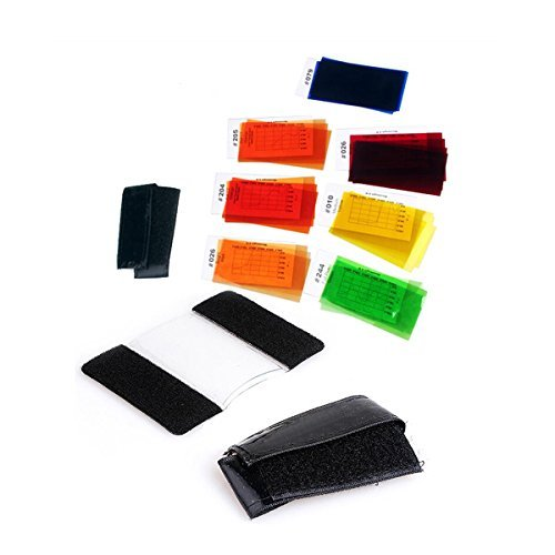 Godox CF-07 7 Color Universal Speedlite Filters Kit For Flash Photography