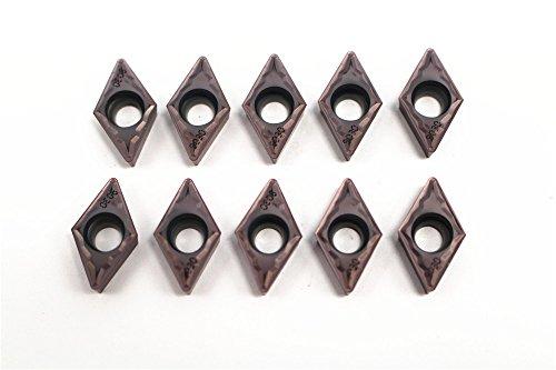10pcs DCMT11T308-HM P7511 Carbide Incerts Cutting Tool Iathe CNC Steel