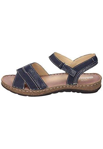 Manitu Damen Sandalette Blau
