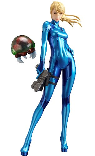 amazon com good smile metroid other m samus arun zero suit pvc