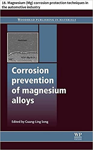 Download Corrosion prevention of magnesium alloys: 18. Magnesium (Mg) corrosion protection techniques in the automotive industry (Woodhead Publishing Series in Metals and Surface Engineering) PDF, azw (Kindle), ePub
