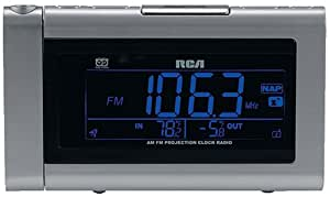 Amazon Com Rca Rp5440 Smartsnooze Dual Wake Am Fm Clock