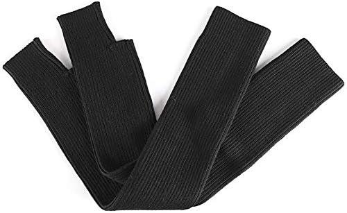 BTXXYJP 女性のニット武器暖かい厚手のコットン半袖アウトドア手袋 (Color : グレー, Size : M)
