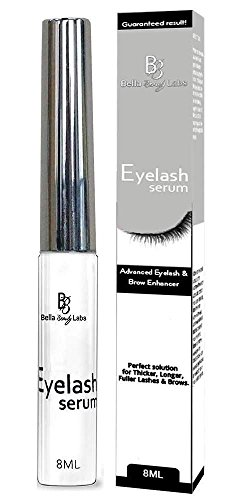Eyelash Growth Serum Enhancer and Eyebrow Lash Conditioner - Advanced Enchancing Formula Primer - Beauty Treatment for Natural Thick & Long Eyelashes and Eye brows (Main)