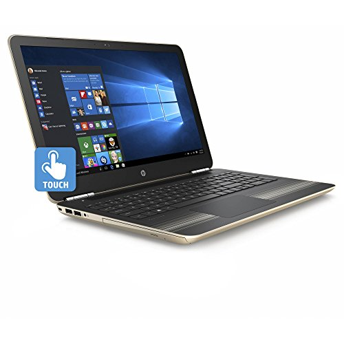 HP 15-AU030WM Pavilion Laptop i5-6200U 2.30GHz 8GB RAM 1TB HDD, Touchscreen, Modern Gold
