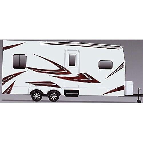 Rv trailer camper motorhome large vinyl decals graphics kit k 0002