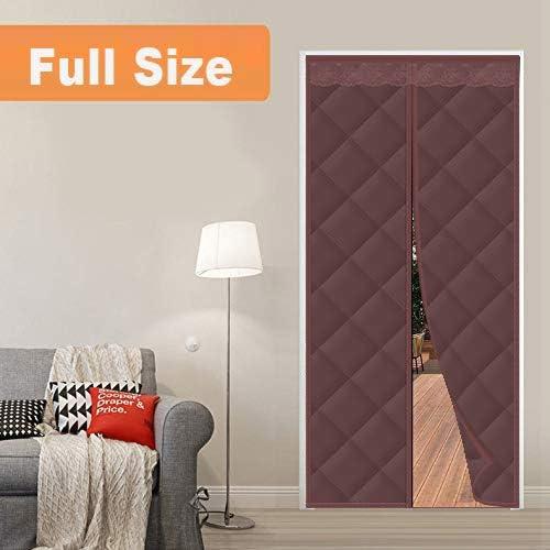 Panel Isolierung Thermovorhang 70x180cm braun Isolier Schutz Selbstansaugend Panel Isolierung Thermovorhang Puertas//para Pasillos