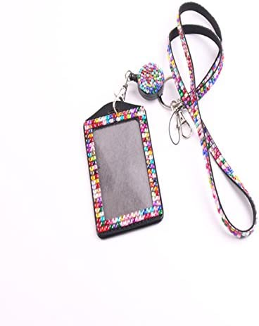 QIDUN Rhinestone Necklace Business Colorful product image
