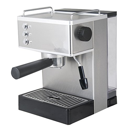 Welljoin Steam Espresso Machine Household/Commercial Semi-automatic Coffee Milk Frother Machine Stainless Steel