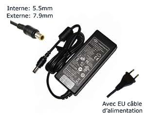 Lavolta-Adaptador de corriente alterna para Lenovo Lenovo 40Y7704 40Y7705 40Y7706 40Y7707 40y7708-Power-Ordenador portátil (TM) de marca () con enchufe europeo