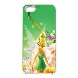iphone5 5s Case (TPU),iphone5 5s Cell phone case White for Disney Clochette Noir - KKHG5348511