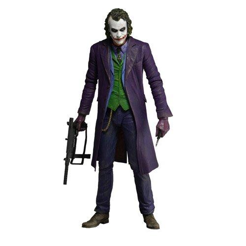 NECA The Dark Knight - The Joker (Heath Ledger) Action Figure (1/4 Scale)