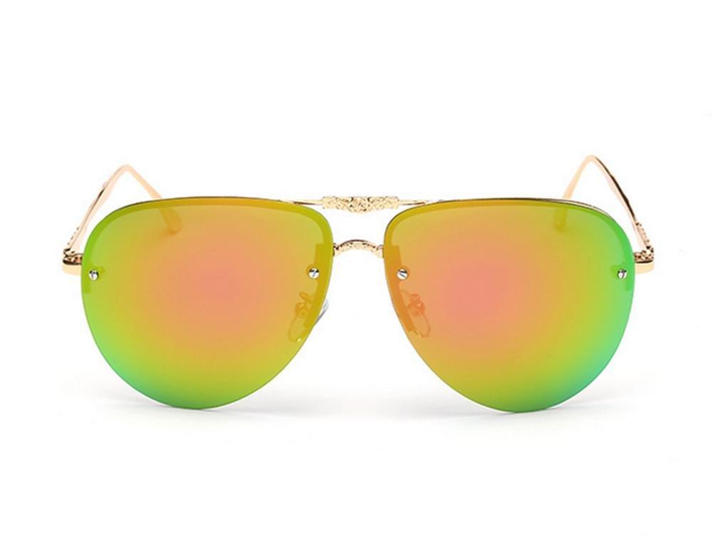 CMCL Wanderer Genuine Polarized Sonnenbrille Half-Frame Frauen Anti-UV-Sonnenbrille Trend Kokons