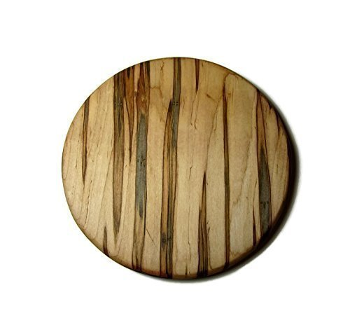 Ambrosia Maple Round cutting board. (Wood Cutting Board Circle)