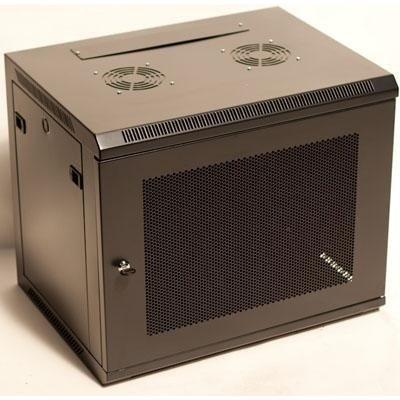6U 19'' WALL MOUNT RACK ENCLOSURE 24'' deep w/ Perforated Locking (Components 24' Storage)