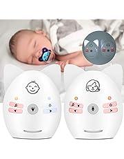 Monitor de áudio para bebês, fácil de carregar e armazenar dispositivo de segurança doméstica seguro e confiável para uso doméstico