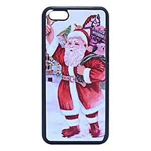 Santa Claus and Gift Plastic Back Case for iPhone 5C