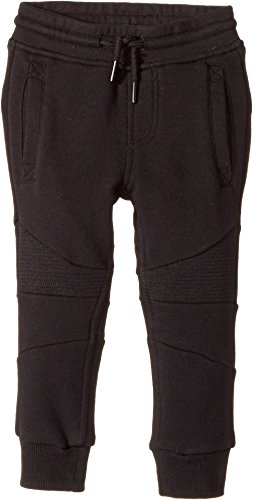 SUPERISM  Baby Boy's Julius Knit Jogger Pants (Toddler/Little Kids/Big Kids) Black Pants
