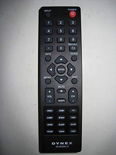 New BBY DYNEX brand remote DX-RC01A-12 DX-RC02A-12 sub RC-701-0A; RC-201-0B; DX-RC01A-13; DX-RC01A-12 remote