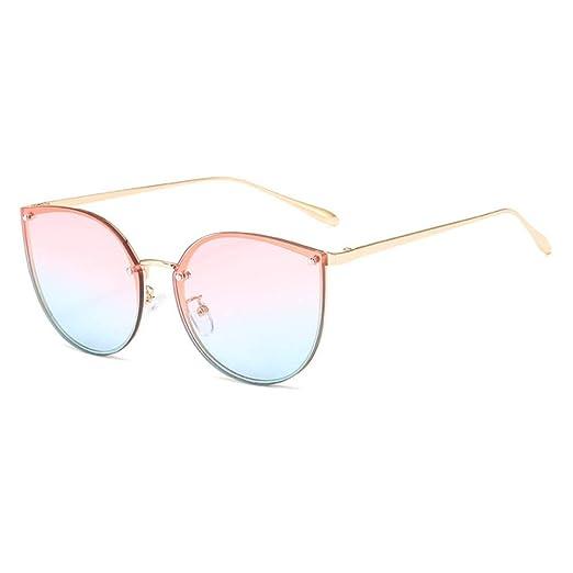 Yangjing-hl Gafas de Sol para Mujer Gafas de Sol ...