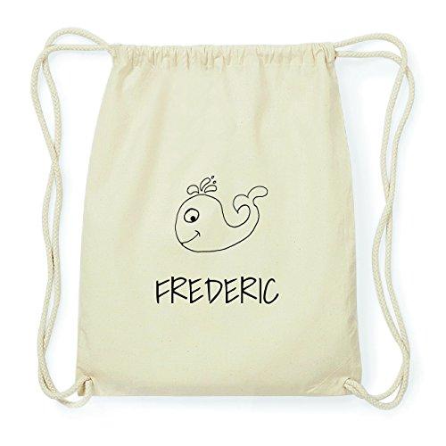 JOllipets FREDERIC Hipster Turnbeutel Tasche Rucksack aus Baumwolle Design: Wal OLmvXYNhU7