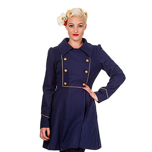 Banned-Womens-Into-The-Night-Navy-Coat