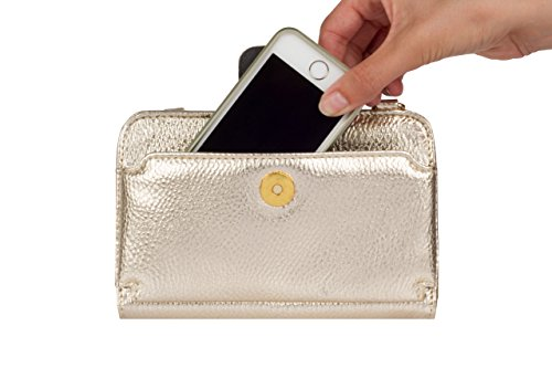 case Marie diabetes leatherette crossbody mini travel by bag gold Myabetic qwIBZwA
