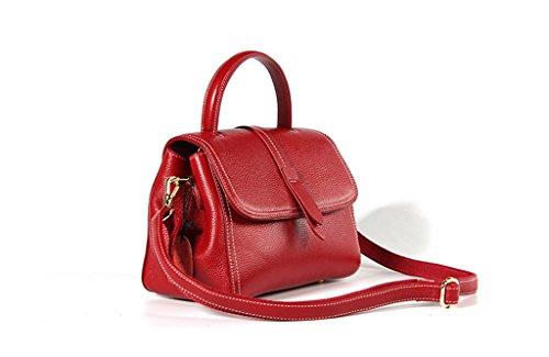 A Donna università Tracolla 3 2 D'affari Messenger Bag Pelle Spalla In Sucastle Tipo Borsa viaggio Vintage dafyOZ76qt