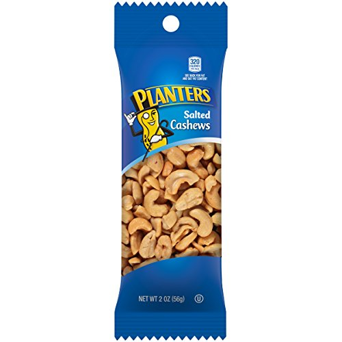 Planters Cashew Super Tube Nuts, 2-Ounce (Pack of 15) (Nut Super)