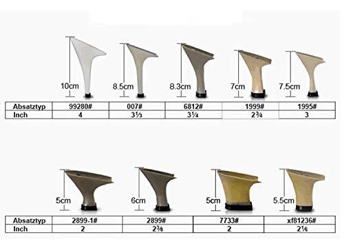 FengJingYuan Frauen Latein Schuhe - Salsa Schuhe Samba Schuhe High Satin Leopard High Schuhe Heel Anpassbare Tanzschuhe Performance Leder 1a72ac