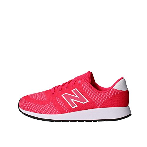 New Balance 420, Baskets Mixte Enfant, Rose (Pink/White), 38 EU