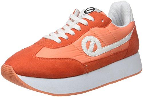 corail Jogger corail Donna 55 Arancione split Eden Nylon Sneaker Noname 8g05qTw5
