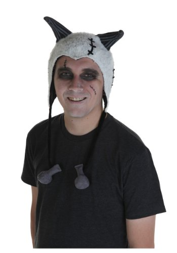 elope FrankenweenieSparky Hoodie Hat, White, One